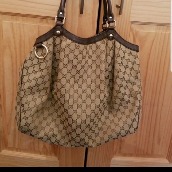 c7967896f1e756 Gucci Bags | Large Sukey Tote Brown | Poshmark
